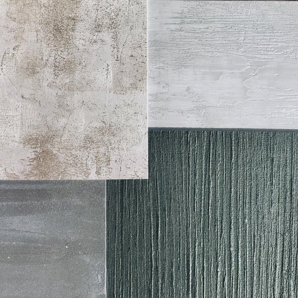 Metallic textures -