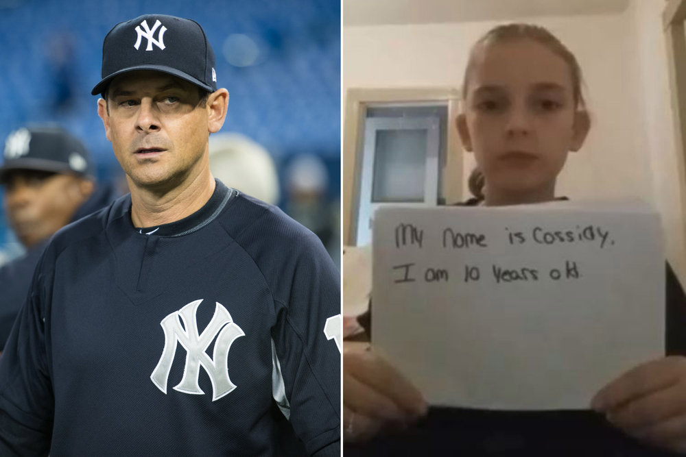 Multiple members of the New York Yankees reached out to support Cassidy's plea.