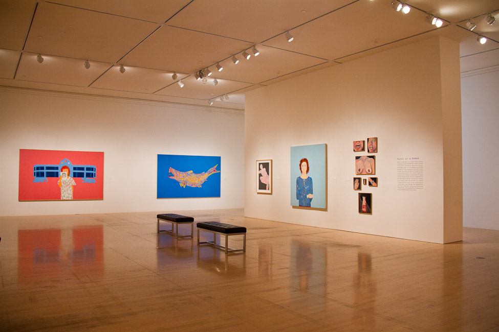 San Jose Museum of Art, San Jose, CA, Joan Brown, This Kind of Bird Flies Backwards, October 14, 2011 – March 11, 2012 3.jpg