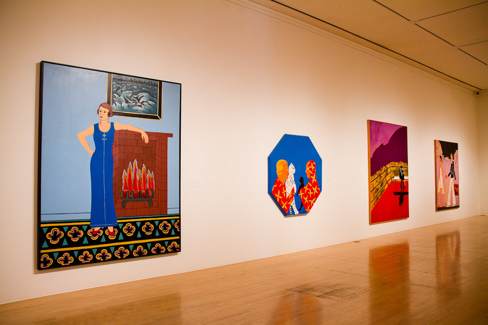 San Jose Museum of Art, San Jose, CA, Joan Brown, This Kind of Bird Flies Backwards, October 14, 2011 – March 11, 2012.jpg