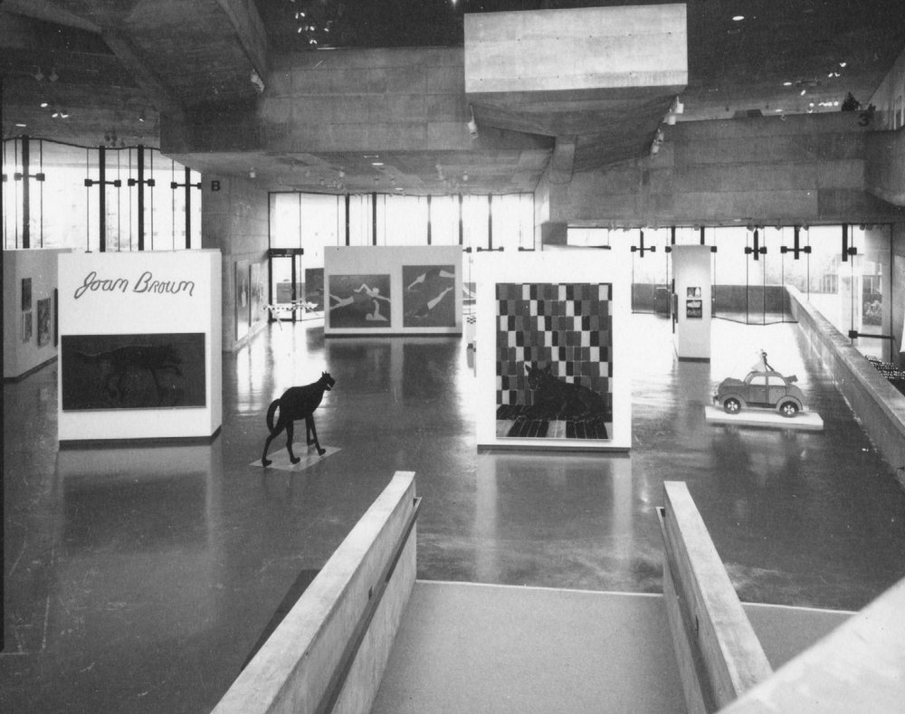 University Art Museum, University of California, Berkeley, Joan Brown, 1974.jpg