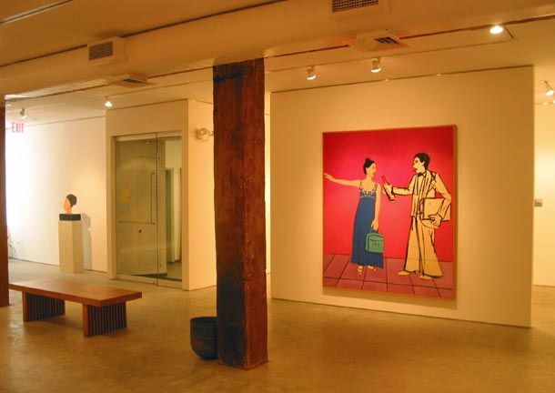 George Adams Gallery, New York, Joan Brown, The Affair, May 2 – June 16, 2006 4.jpg