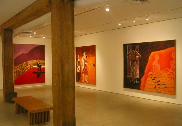 George Adams Gallery, New York, Joan Brown, The Affair, May 2 – June 16, 2006.jpg