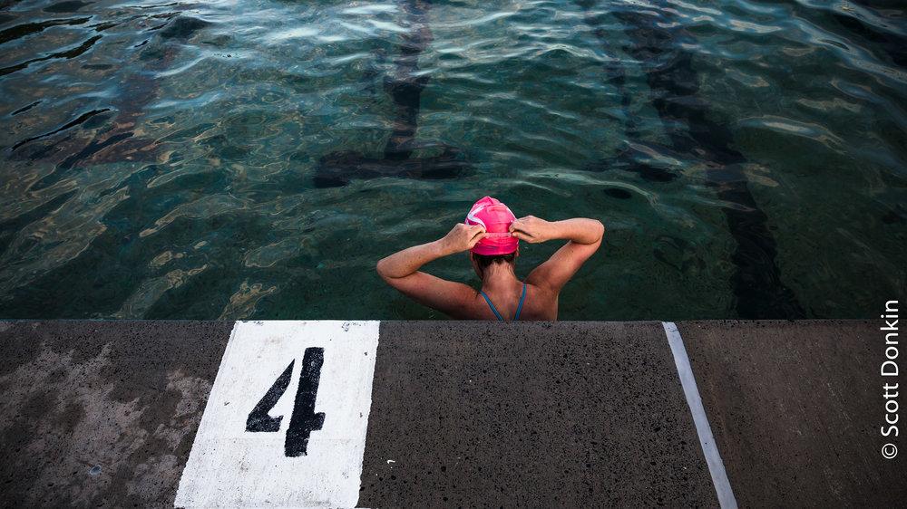 Lane 4, Freshwater Pool, Sydney.