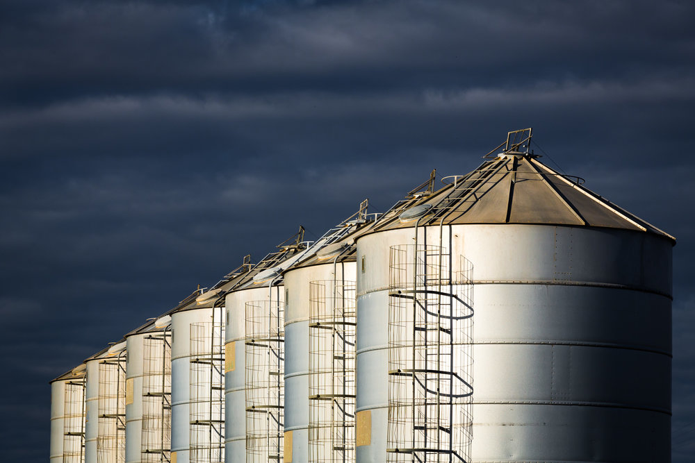 Seven Silos. New South Wales.