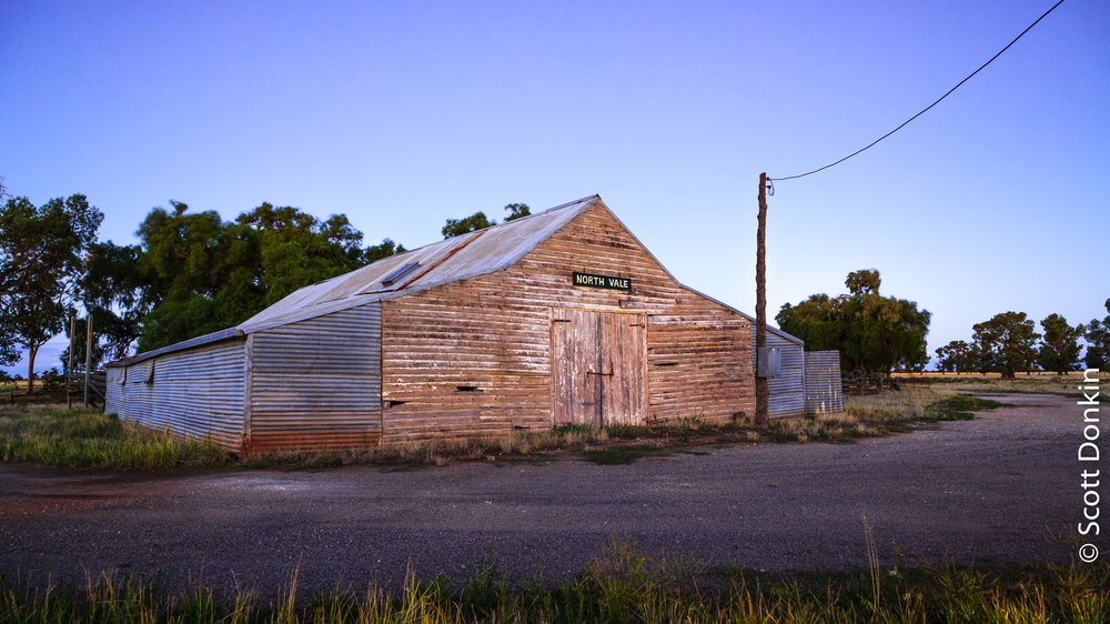 Old barn. South-west New South Wales.