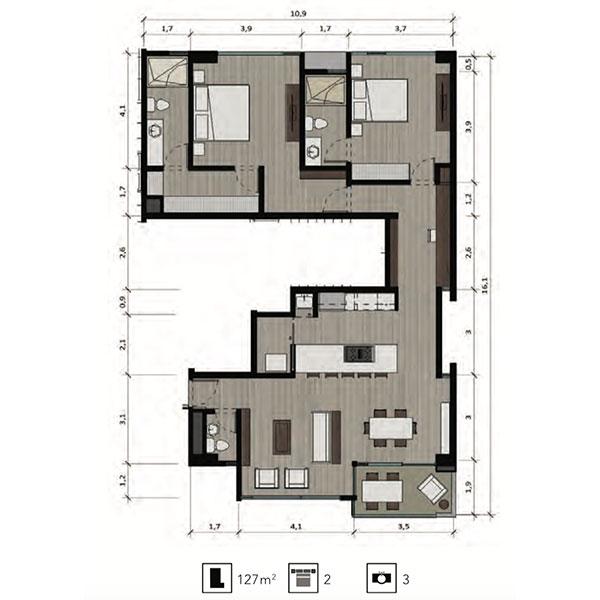 Apartamento D