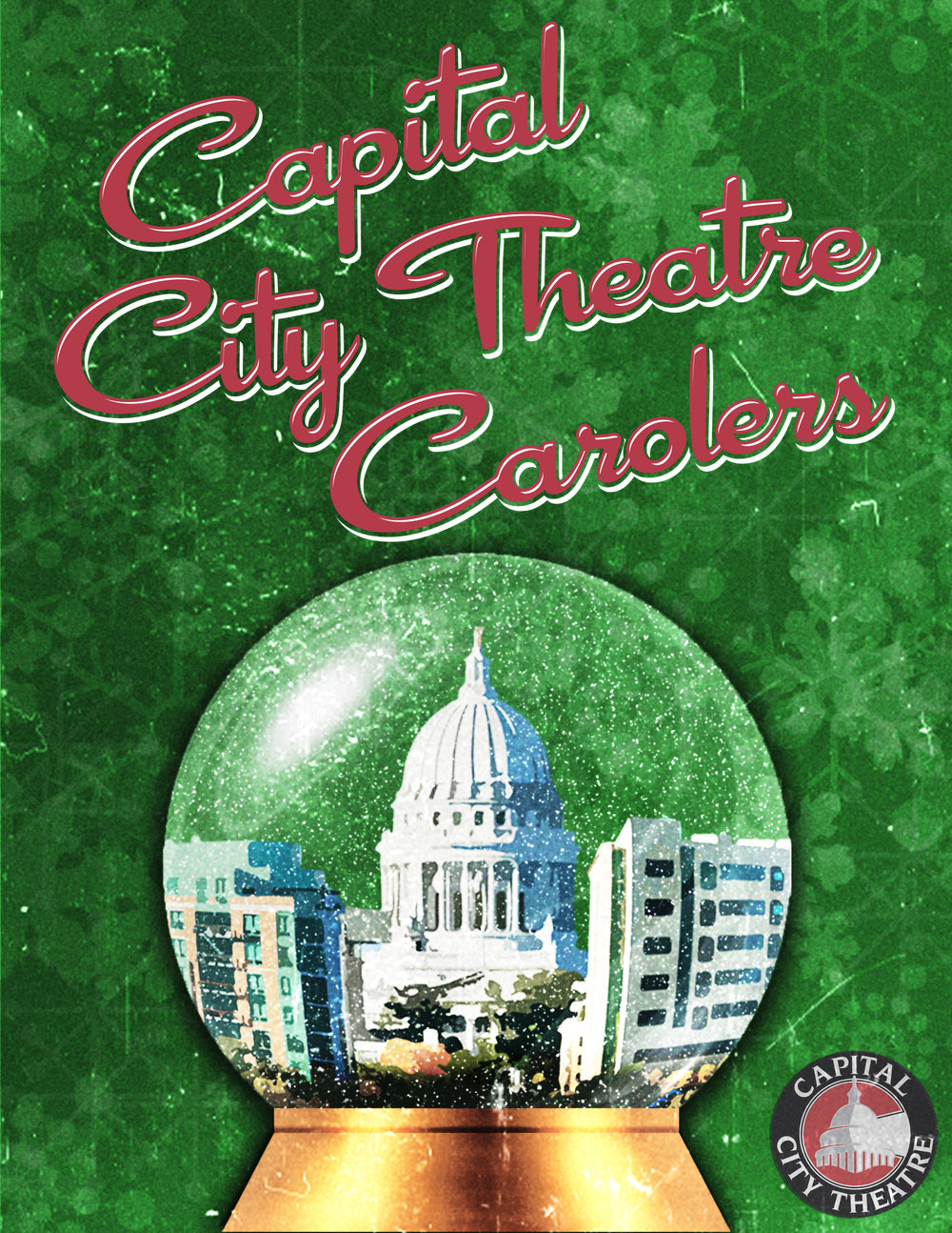 For Your Holiday Event - Let Capital City Theatre Carolers bring that perfect amount of holiday spirit to your event or location!Our professional quartets will entertain your guests in nostalgic Norman Rockwellian style. Wearing costumes that reflect seasonal wear from the fifties, our singers croon classic holiday songs with impeccable accapella 4-part harmony. Hear all your favorites like White Christmas, Jingle Bell Rock, Silver Bells, and more! We also include some not so often heard gems like Jing-A-Ling, I'd Like To Hitch A Ride With Santa Claus, and Snow! Want to hear your old favorites? We can do that too, by adding cherished traditional carols such as Silent Night, Jingle Bells, Carols Of The Bells, and many others.Need more than a quartet? We can add as many singers as you need! We have a core group of professional music theatre performers so you get all the expertise of not only incredible singers, but active, engaged entertainers delighting your listeners.