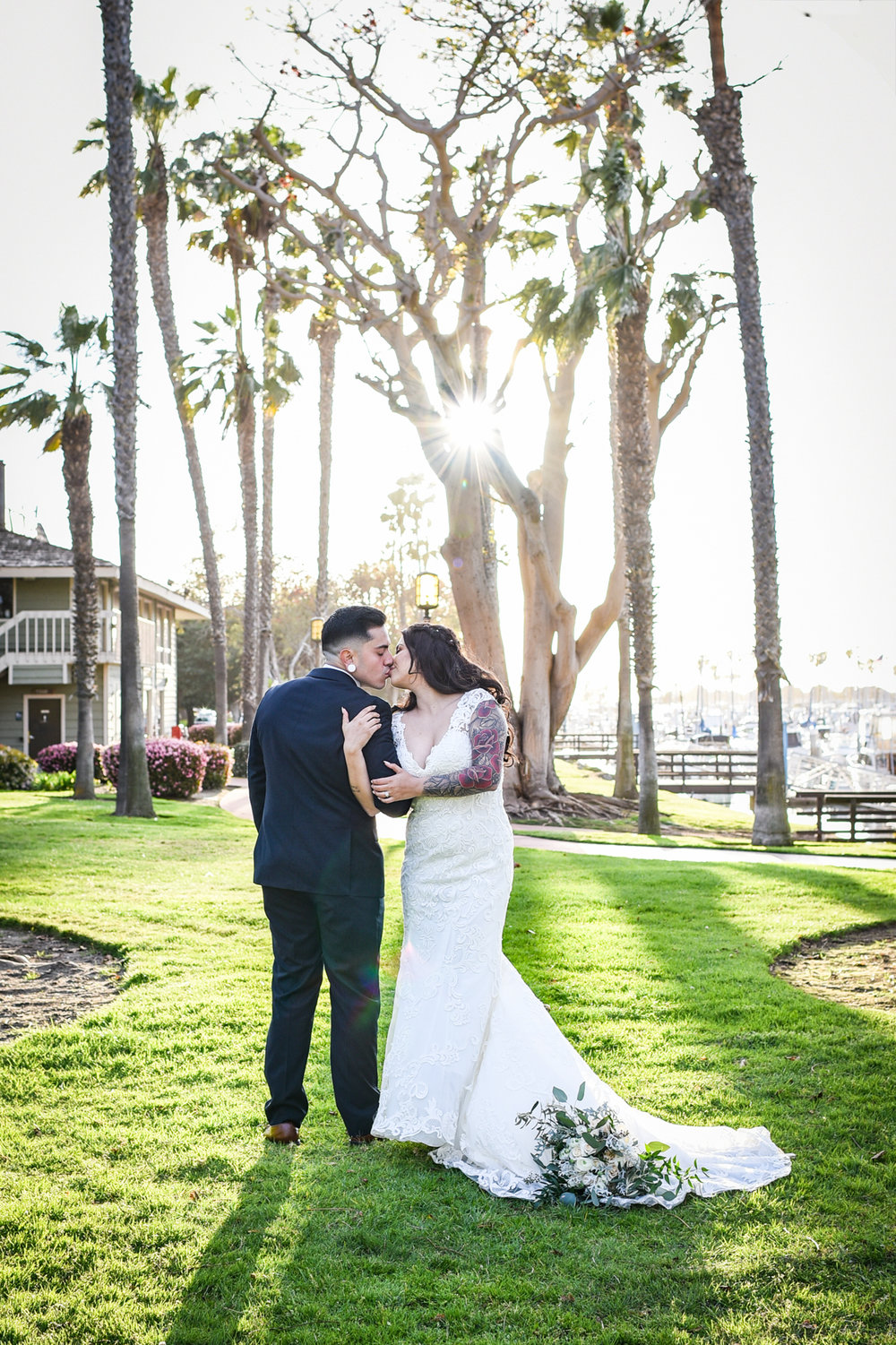 Christina & Memo San Diego, CA Marina Village Wedding