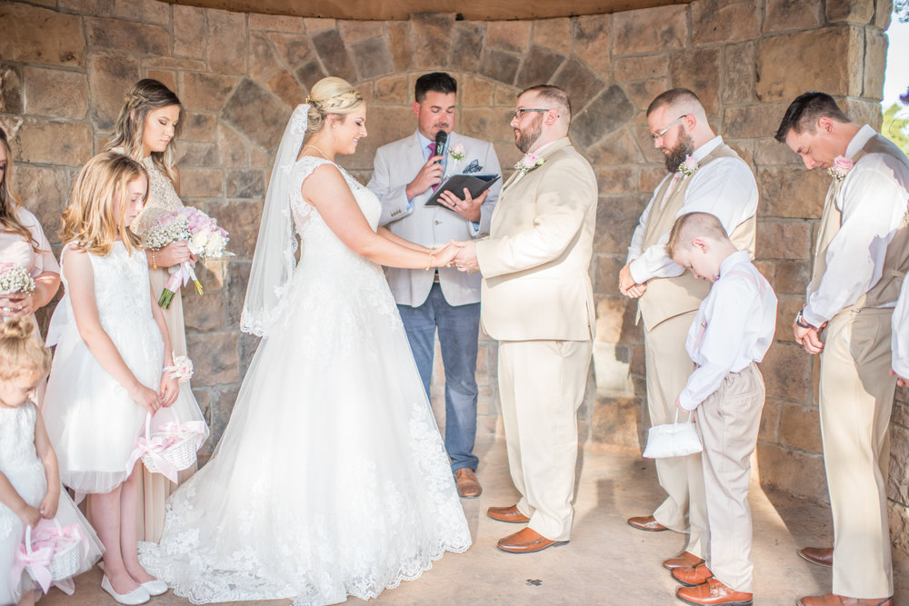 Courtney & Garrett- Oklahoma City, OK Castle Wedding