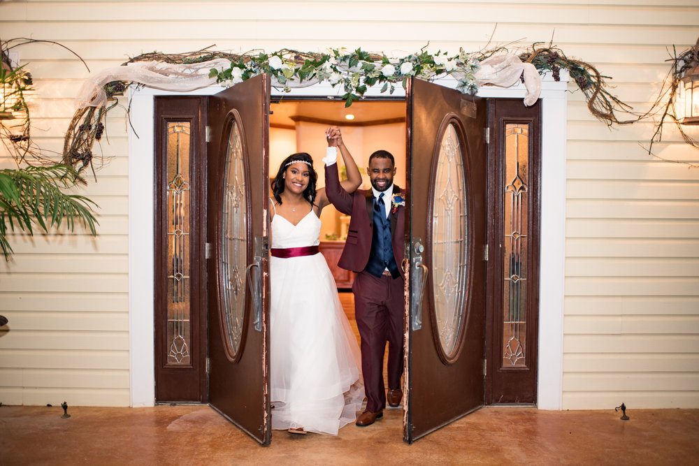 Antoinette & Justin- Choctaw, OK Cozy Chapel