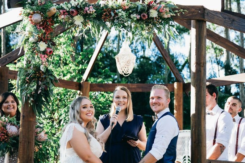 REAL CEREMONIES - Alissia is equal parts professional and fun who provides a wonderfully unique, funny, memorable and most of all stress free ceremony just for you. With Alissia, you will have your guests in tears one moment and laughing the next. Plus she…