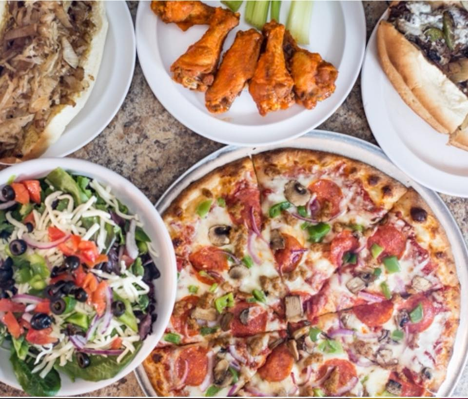 TRY THEM ALL - PIZZAS, CHEEZSTEAKS, BURGERS, SUBS, SALADS, WINGS & MORE