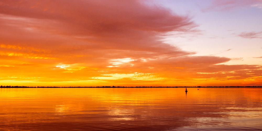Lake Boga Sunset 1 - VICTORIA