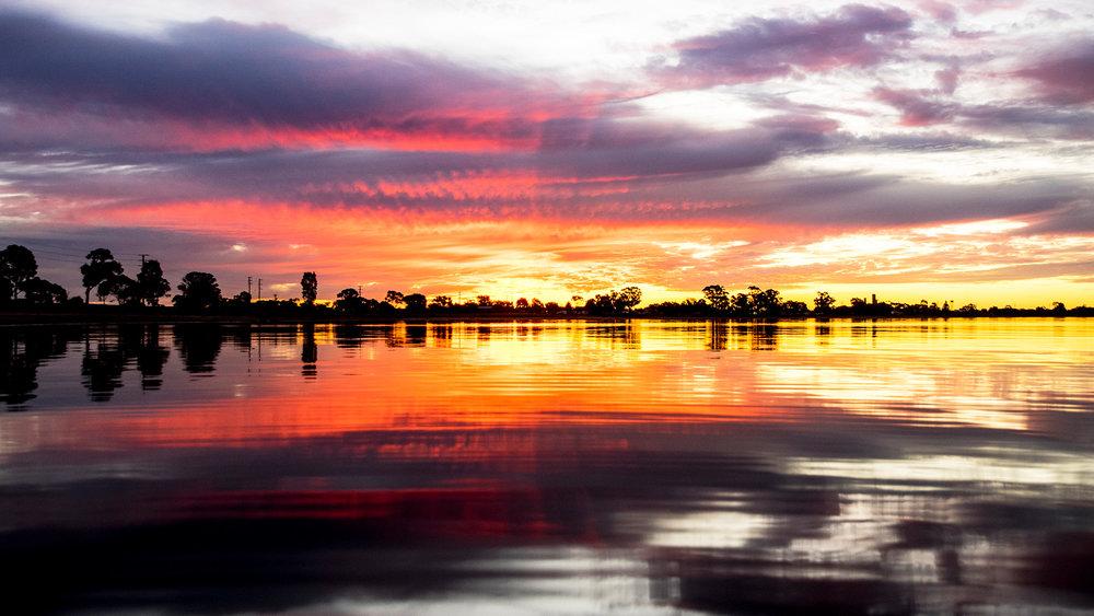 Lake Boga Sunset 2 - VICTORIA