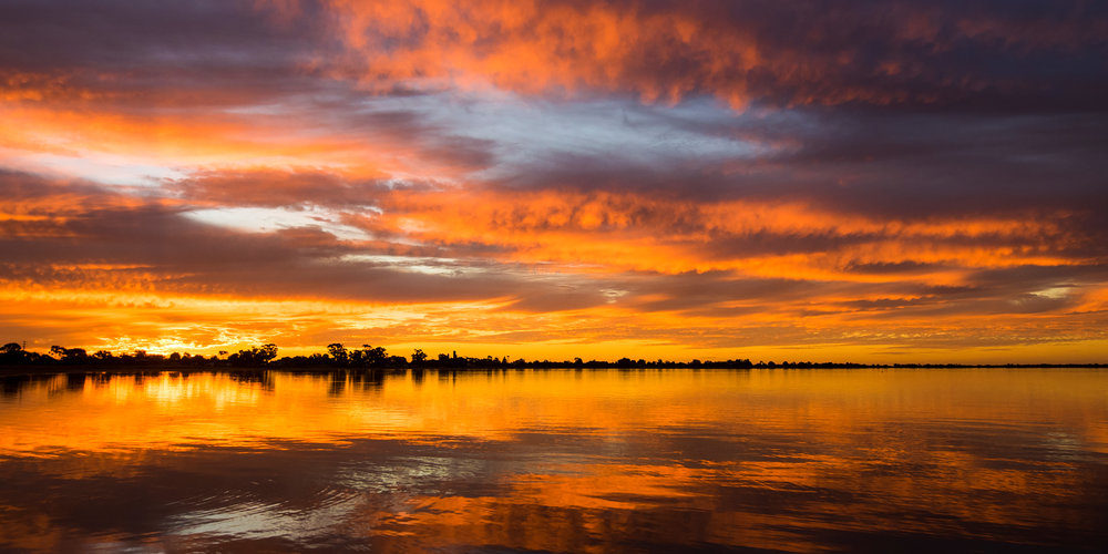 Lake Boga Sunset 3 - VICTORIA