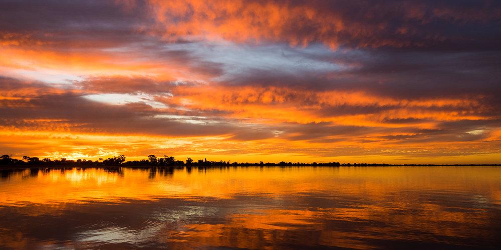 Lake Boga Sunset 3 - VICTORIA