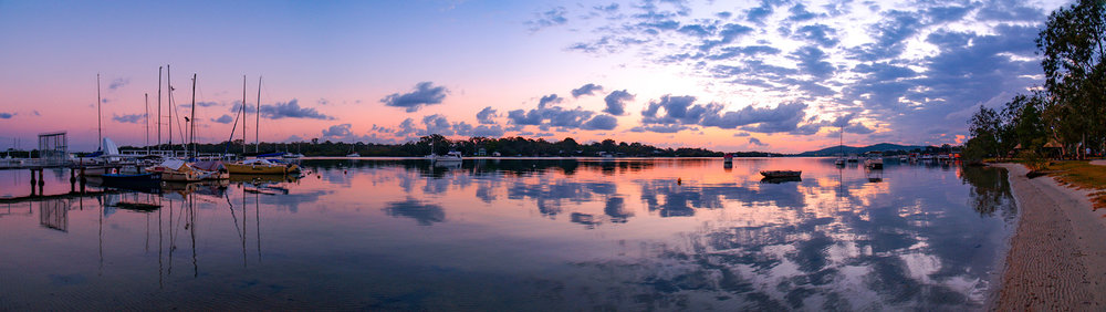 NOOSA RIVER SUNRISE - QUEENSLAND