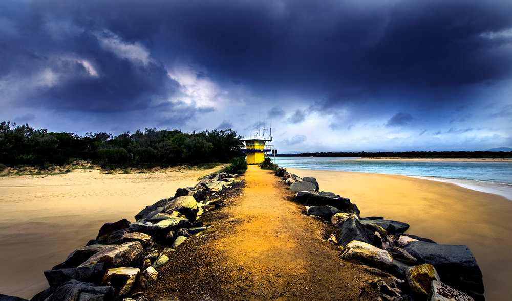 NOOSA RIVER MOUTH - QUEENSLAND
