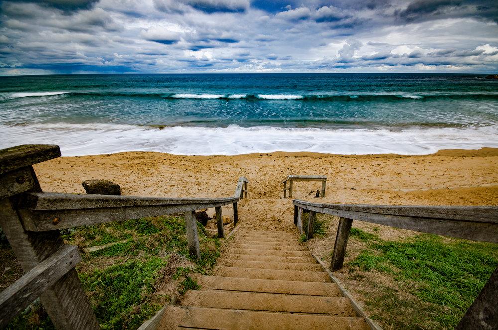 Torquay Beach Steps