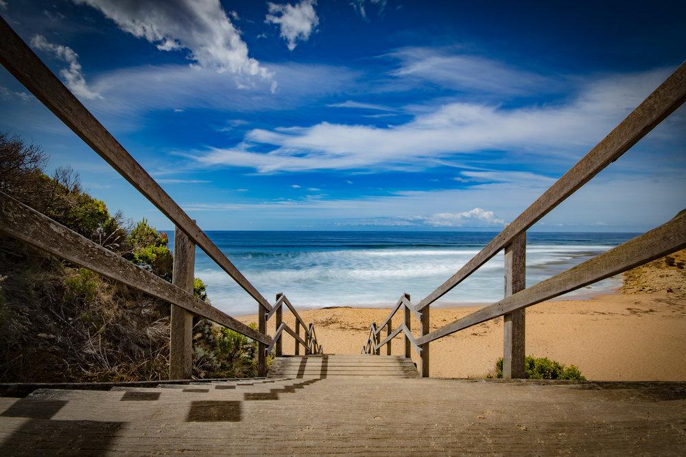 Bells Beach Steps