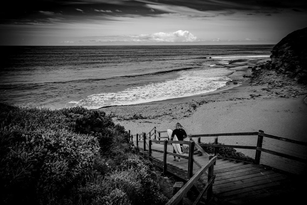 Surfer Black & White