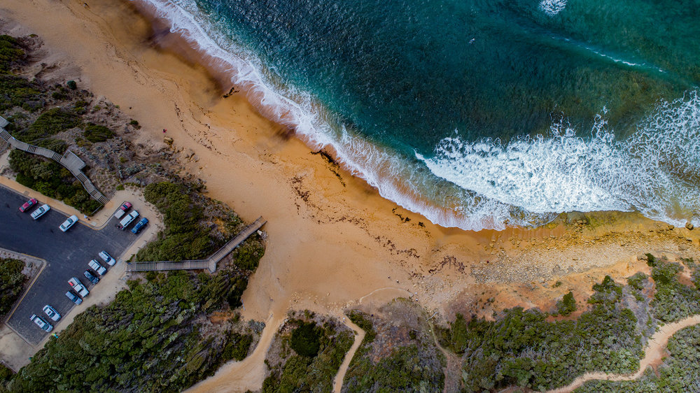 Bells Beach Aerial
