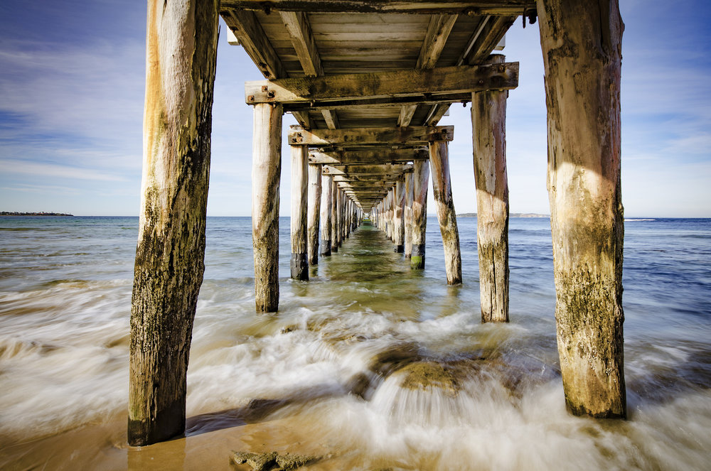 Underneath The Jetty