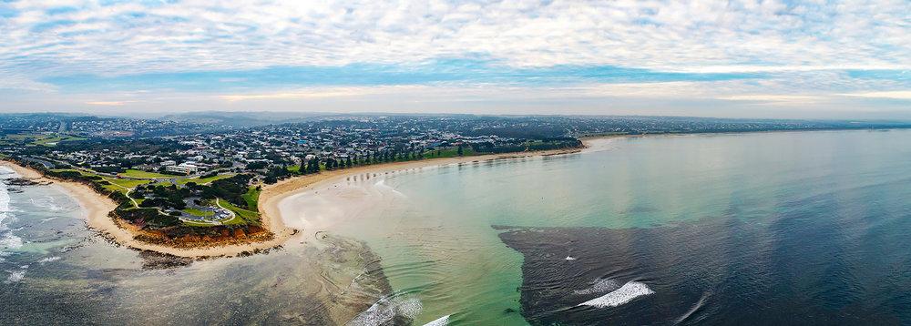 Torquay Coast Pano