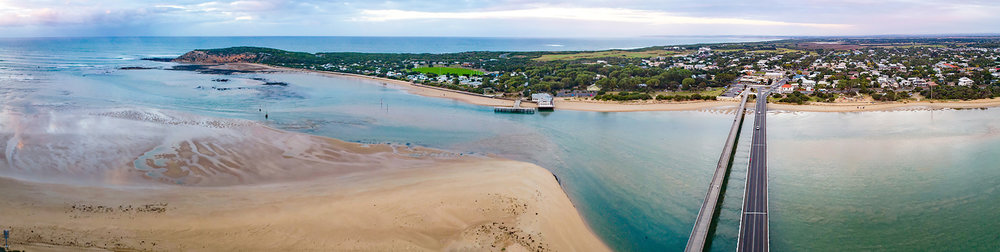 Barwon Heads Bridge Pano