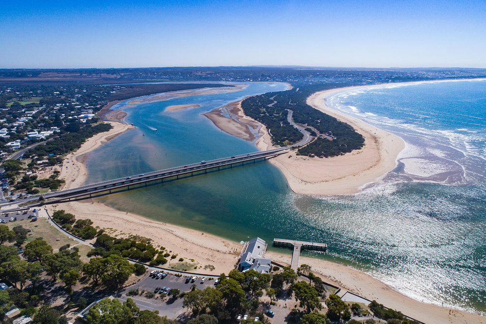 Barwon Heads Aerial View