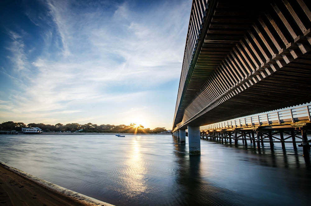 Barwon Heads Bridge Sunset