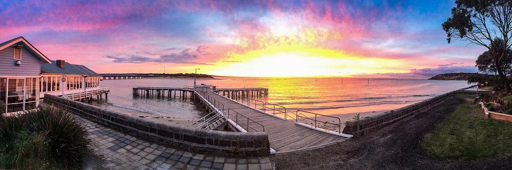 BH Sunset Pano