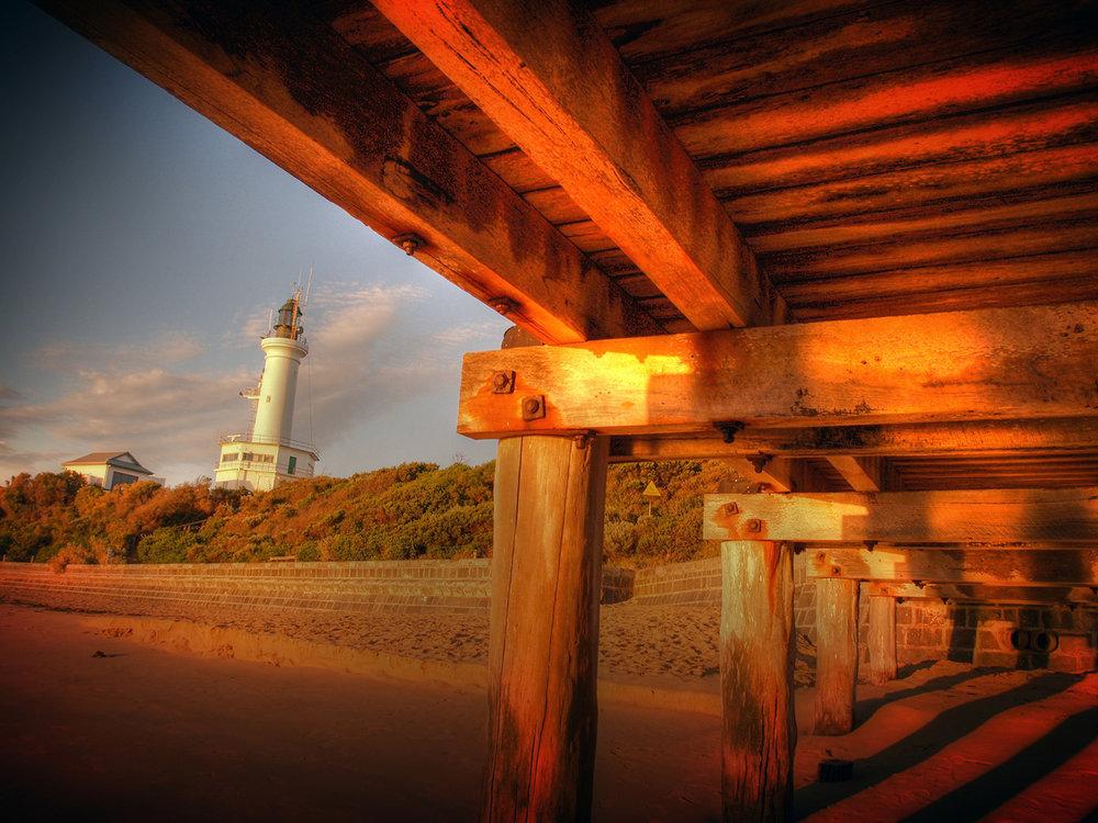 Golden Jetty & Lighthouse