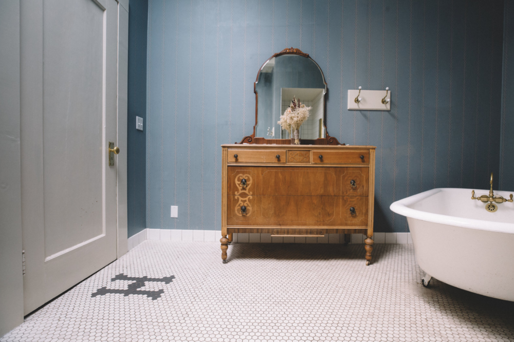 Penny Tile and Clawfoot Tubs