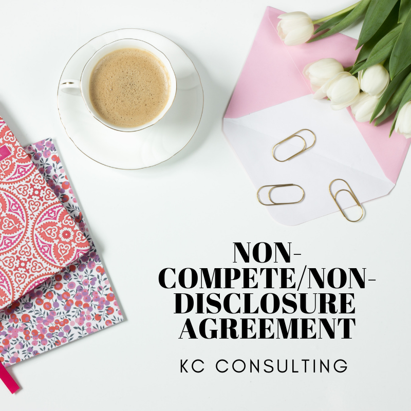 Non Competenon Disclosure Agreement Kc Consulting Consulting