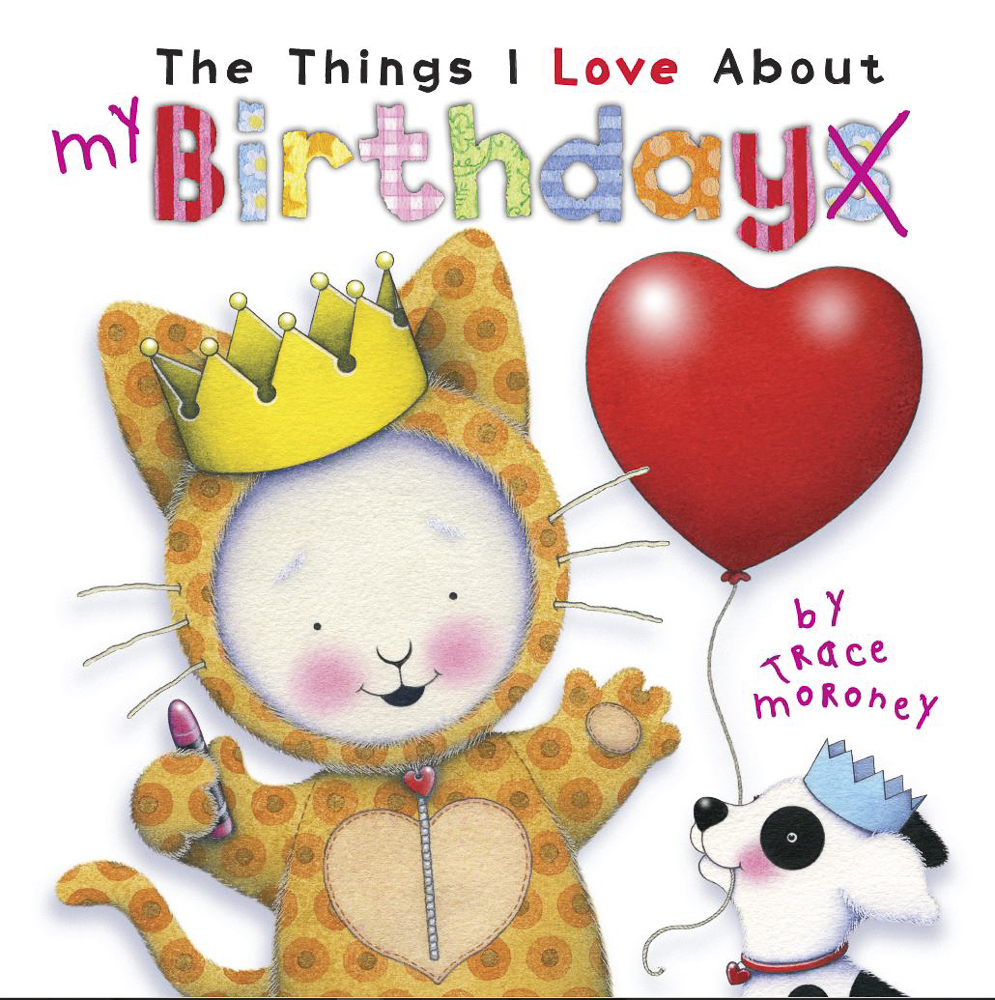 The Things I Love About Birthdays - Your birthday is a special and exciting day to celebrate being you! This beautiful book explores the wonderful things to love about birthdays through simple examples and sweet artwork.