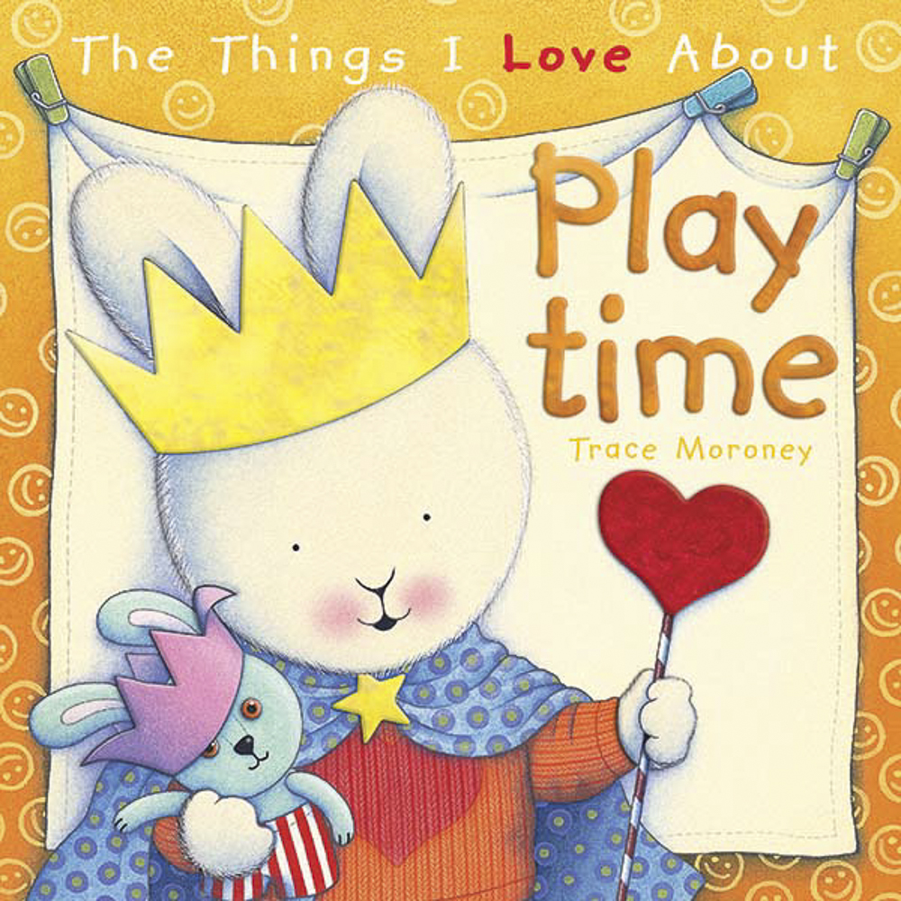 The Things I Love About Playtime - There are so many things to love about playtime. Making friends, having fun, laughing...