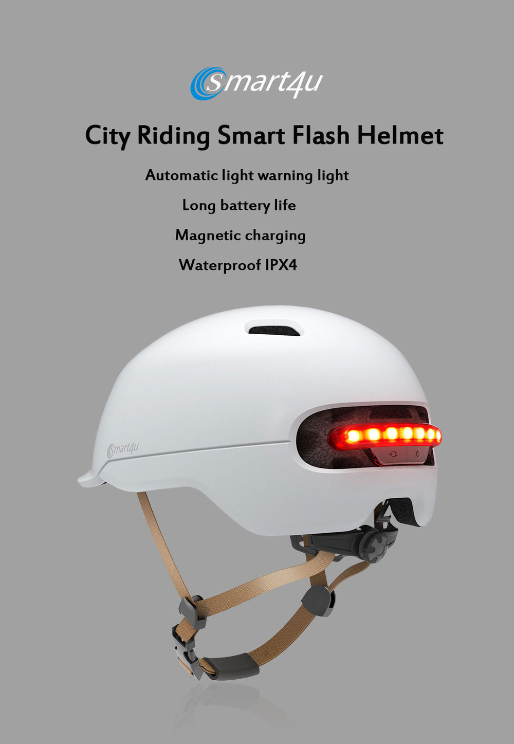 dc5daf0820d For your biking needs, a helmet is a must. Our newest product: The Smart4u  Brand