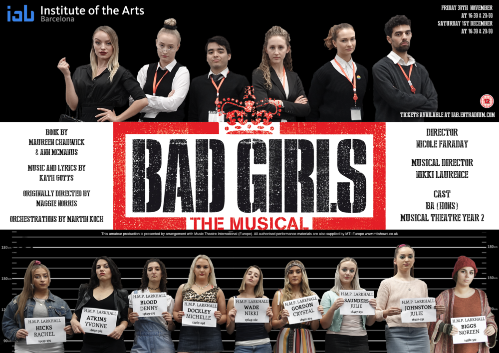 Bad Girls - BA (Hons) Musical Theatre Year 2
