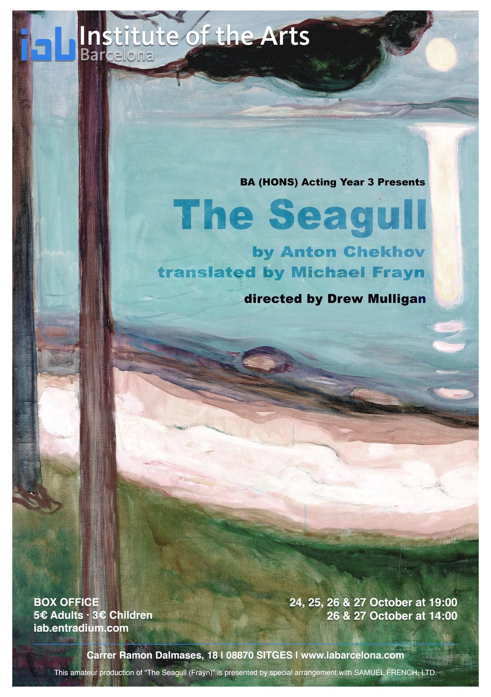 The Seagull - BA (Hons) Acting Year 3