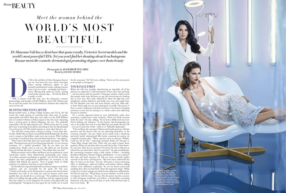 Cosmetic dermatology, March 2018