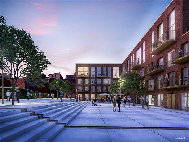 #Carlsbergbyen #Theodorahus #OtilliaJacobensPlads #3d #Architectural #Visualization.  #Denmark #Copenhagen #Rendering #archviz #rendergallery