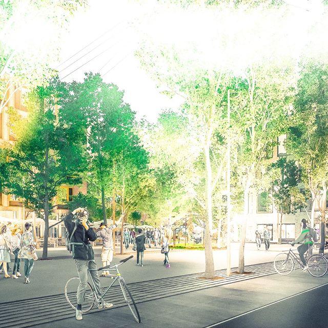 #Carlsbergbyen #Kildepladsen #Byrum #3d #Architectural #Visualization.  #Denmark #Copenhagen #Rendering #archviz