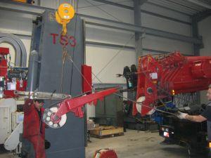 Aufbau und Abbau von Maschinen