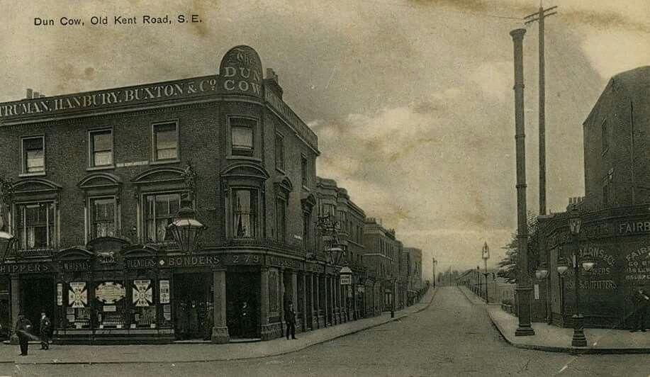 The Dun Cow - Old Kent Road, London.