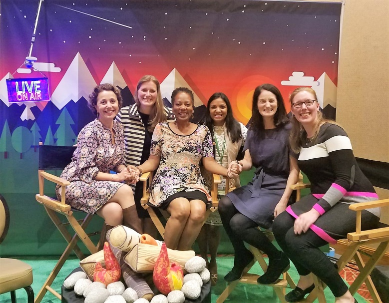 2016-2018 ZERO TO THREE Fellows and Lynette Aytch,       Director, Leadership Development Institute at the 2018 National Conference.    Photo credit Mimi Graham, Director, FSU Center for Prevention and Early Intervention Policy