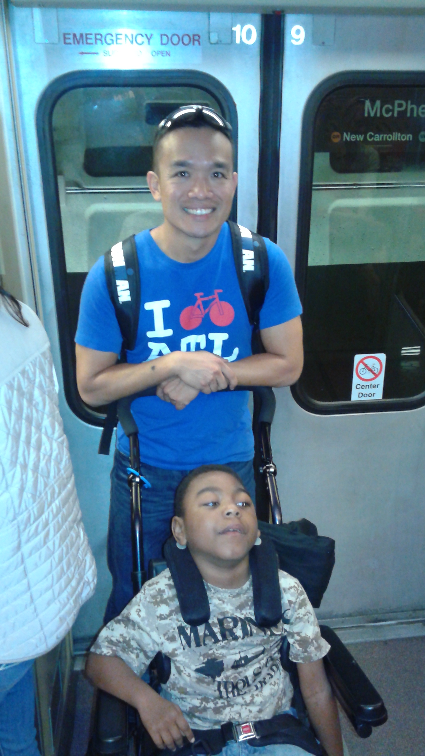 Kevin & Noah take D.C. 1 Metro @ at time!