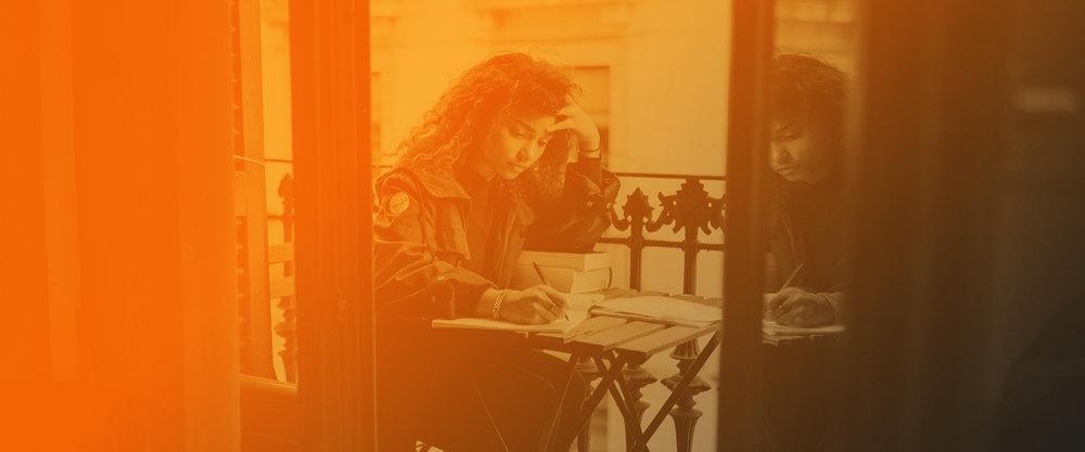 Soy un escritor. -