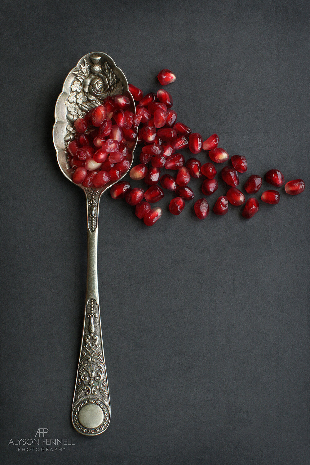 Pomegranate and Spoon